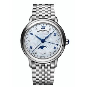 RAYMOND WEIL レイモンド・ウィル 2739-st-05985 Maestro ムーンフェイズ ダイヤモンド 自動巻き レディース 腕時計 gifttime