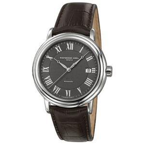 RAYMOND WEIL レイモンド ウィル 2837-stc-00609 Maestro Automatic Leather Strap Mens メンズ 腕時計 gifttime