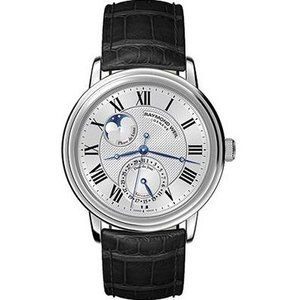 RAYMOND WEIL レイモンド・ウィル 2839-stc-00659 Maestro Moon Face ムーンフェイス 自動巻き メンズ 腕時計 gifttime