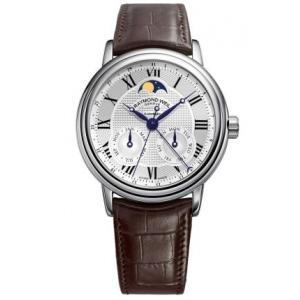 RAYMOND WEIL レイモンド・ウィル 2849-stc-00659 Maestro Moon Face ムーンフェイス 自動巻き メンズ 腕時計 gifttime