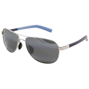 Maui Jim マウイジム 327-17 Guardrails Silver With Blue Neutral Grey レディース メンズ用 サングラス|gifttime