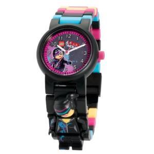 ポイント5倍★早よつく★LEGO[レゴ] 8020233 レゴ ザ ムービー ワイルドスタイル Wyldstyle (Lucy) 子供用 腕時計 キッズ フィギア gifttime