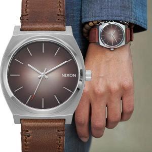 452e9a7223 ニクソン NIXON A0452594 THE TIME TELLER タイムテラー レザー サンレイ 腕時計 メンズ レディース A045-2594