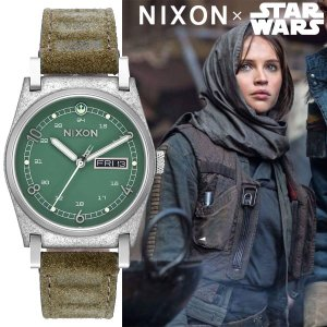 NIXON/ニクソン STAR WARS スターウォーズ JANE LEATHER ジェーン レザー JYN ERSO A955SW2722 レディース 時計 A955SW-2722|gifttime