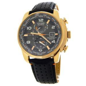 CITIZEN シチズン at9013-03h MENS エコドライブ ワールドタイム A-Tパーペチュアルカレンダー 腕時計|gifttime
