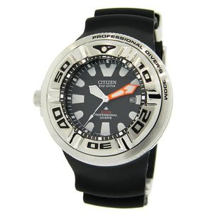 CITIZEN シチズン bj8050-08e Men's ECO-DRIVE WR300 Professional Diver Black Rubber エコドライブ 海外モデル 腕時計|gifttime
