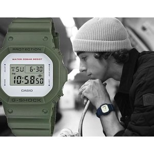 DW5600M-3 G-SHOCK LIMITED ARMY FREEN (DW-5600M-3) G-ショック CASIO グリーン メンズ 時計|gifttime