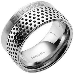 DIESEL[ディーゼル]ステンレスリング10(us) 20号(日本) dx0250040512 指輪 MENS gifttime