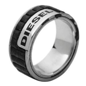 DIESEL[ディーゼル]ステンレスリング11.5 (us) 24号(日本) dx0493040515 指輪 MENS gifttime