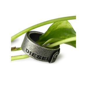 DIESEL[ディーゼル]ステンレスリング 9 (us) 18号(日本) dx0649040510 指輪 MENS gifttime