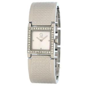 GUESS ゲス g84002l1 クリスタルが美しい シルバー レディース 腕時計 gifttime