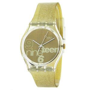 ポイント5倍★[メール便][ケース割れ]SWATCH スウォッチ 腕時計 GK216W GENT GLITTER ジェント グリッター|gifttime