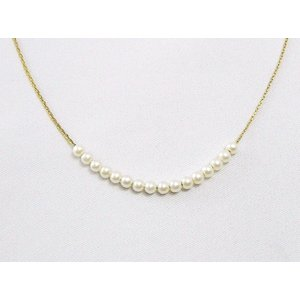 『made in japan!』日本製 ゴールドパールネックレス j-goldsmallpearl-n NECKLACE レディース ネックレス ゴールド パール|gifttime