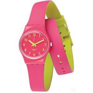 [メール便][ケース割れ]ポイント5倍★ 2014春夏モデル SWATCH スウォッチ 腕時計 LP131 LADY レディ BIKO ROOSE ビコ・ローズ|gifttime