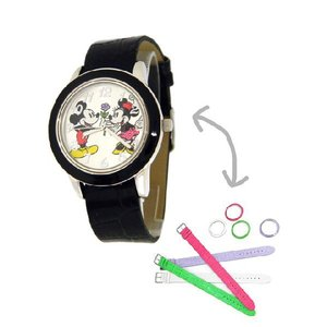 ポイント5倍★ Disney ディズニー mck1049 ミッキー&ミニーマウス レディース 腕時計 gifttime