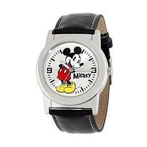 ポイント5倍★Disney ディズニー mck611 Mickey Mouse Black Strap ミッキー マウス レディース 時計 gifttime