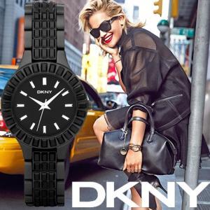 ポイント5倍★DKNY ディーケーエヌワイ ny8302 Glitz Black  レディース  腕時計|gifttime