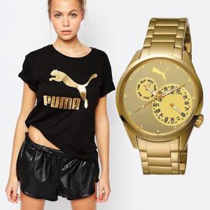 PUMA プーマ pu102452007  Blink Multifunction Gold アナログ ゴールド レディース 腕時計|gifttime