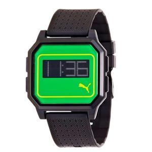 PUMA プーマ pu910951009 TIME プーマタイム 腕時計 ジャマイカ カラー シリーズ 限定モデル FLAT SCREEN PU910951009|gifttime