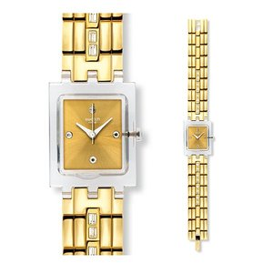 SWATCH スウォッチ SUBK151G WHITE BARRETTE ホワイトバレッタ 時計|gifttime