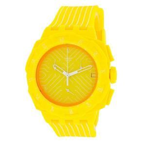 ポイント5倍★SWATCH スウォッチ 腕時計 SUIJ400 クロノ PLASTIC YELLOW RUN|gifttime