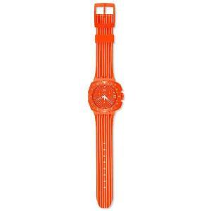 SWATCH スウォッチ 腕時計 SUIO400 クロノ PLASTIC FLASH RUN|gifttime