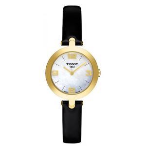 TISSOT[ティソ] t003.209.36.117.00 T-trend Flamingo Tトレンド フラミンゴ マザーオブパール×レザー 腕時計 レディース|gifttime