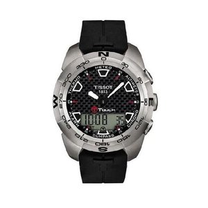 TISSOT/ティソ t013.420.47.201.00 T-Touch Expert Analog/Digital Mens T-タッチ 時計|gifttime