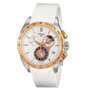 TISSOT[ティソ] T092.417.27.201.00 T-Sport Racing Tスポーツ ホワイト クロノグラフ メンズ 腕時計 t0244172701100|gifttime