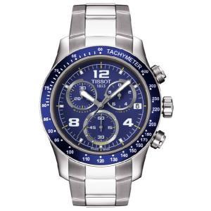 早よつく★TISSOT ティソ T039.417.11.047.02  T-sport V8 MENS T-スポーツ ブルー メンズ 腕時計|gifttime