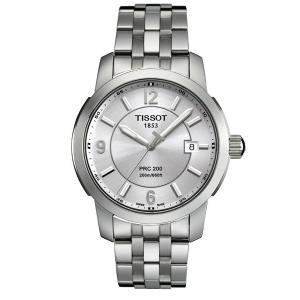 TISSOT[ティソ] T055.410.11.037.00 PRC 200 QUARTZ GENT メンズ 腕時計 t0554101103700|gifttime