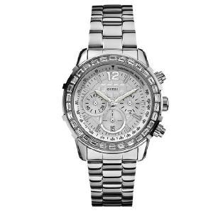 GUESS ゲス u0016l1 Dazzling Sport U0016L1 スワロフスキークリスタル クロノグラフ レディース 腕時計 gifttime