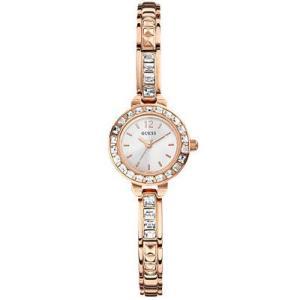 GUESS ゲス u0429l3  U0429L3 Elegant Rose Gold-Tone Jewelry Inspired  ローズゴールド クリスタル 女性 レディース 腕時計 gifttime