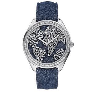 GUESS ゲス u0504l1 デニム×アニマル レディース 腕時計 gifttime