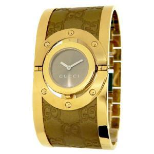 GUCCI グッチ ya112434 Twirl トワール ラージ バングル 腕時計 レディース|gifttime
