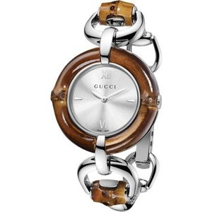 GUCCI/グッチ ya132403 Bamboo(バンブー) バングルブレスレット 腕時計 レディース|gifttime