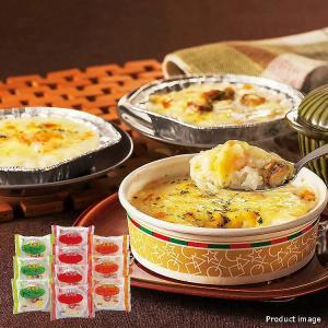 北海道産じゃがいもをベースにホワイトソースで仕上げたグラタンです。 3種類の味をご賞味ください。  ...