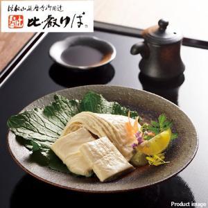 滋賀県産大豆を使用。とろゆばは、大豆の風味よく、 とろっとクリーミーで柔らかい食感の生湯葉。本さしみ...