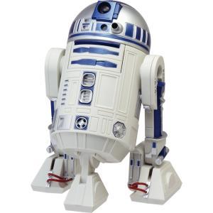★送料無料★ リズム時計 STAR WARS(スターウォーズ)R2-D2 音声・アクション目覚し時計 8ZDA21BZ03