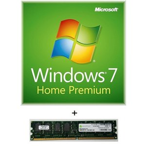Microsoft Windows7 Home Premium 32bit 日本語版(DSP版) GFC-00957 DDR2メモリセット