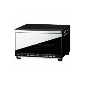 TWINBIRD(ツインバード工業) ミラーガラスオーブントースター (1200W) TS-D057B ブラック|giga-web