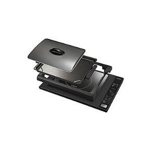 Panasonic(パナソニック) IHホットプレート (プレート1枚) KZ-HP1100-K ブラック|giga-web
