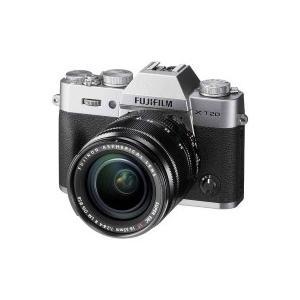 富士フイルム(FUJIFILM) FUJIFILM X-T20【レンズキット】(シルバー/ミラーレス一眼カメラ)|giga-web