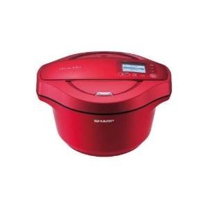 SHARP(シャープ) KN-HW24C-R 水なし自動調理鍋 「ヘルシオ ホットクック」(2.4L) レッド系|giga-web
