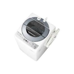 【破損品】SHARP(シャープ) ES-GV8B-S-D1 全自動洗濯機 (洗濯8.0kg) シルバー系|giga-web