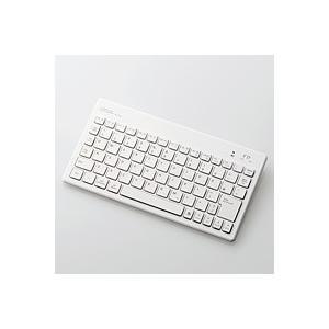 ELECOM(エレコム) TK-FBP052WH ワイヤレスキーボード Bluetooth ウルトラスリム パンタグラフ Windows/iOS/Android 対応 giga-web