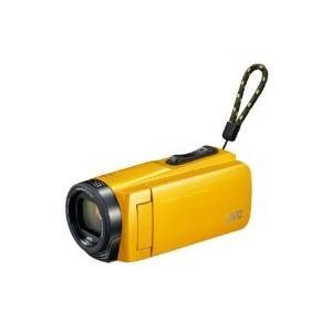 VICTOR(ビクター) GZ-F270-Y SD対応 32GBメモリー内蔵フルハイビジョンビデオカメラ(イエロー)|giga-web