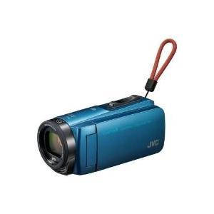 VICTOR(ビクター) GZ-RX670-A SD対応 64GBメモリー内蔵 防水・防塵・耐衝撃フルハイビジョンビデオカメラ(アクアブルー)|giga-web