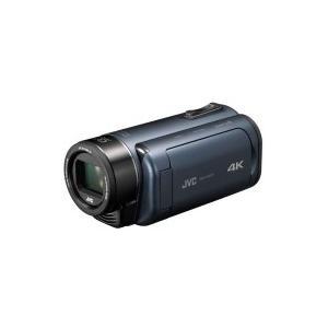 VICTOR(ビクター) GZ-RY980-A ダブルSDスロット搭載 防水・防塵・耐衝撃4Kビデオカメラ(ディープオーシャンブルー)|giga-web