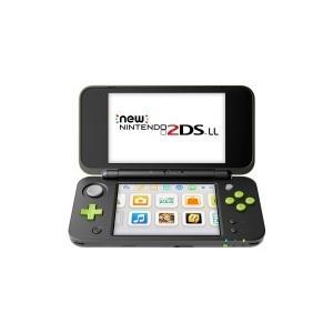 任天堂 Newニンテンドー2DS LL ブラック×ライム[ゲーム機本体] giga-web